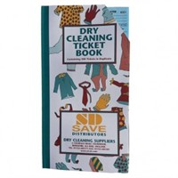 Ticket Books - Dry Cleaning (all Colours)