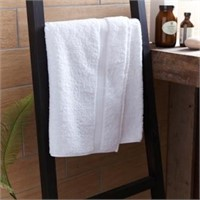 Sorento 550gsm Luxury Turkish Bath Sheet 100x150cm Basket Weave Header