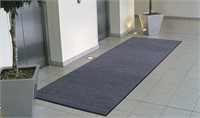 Washable Entrance Mat 115x175cm (4'x6') Black Steel