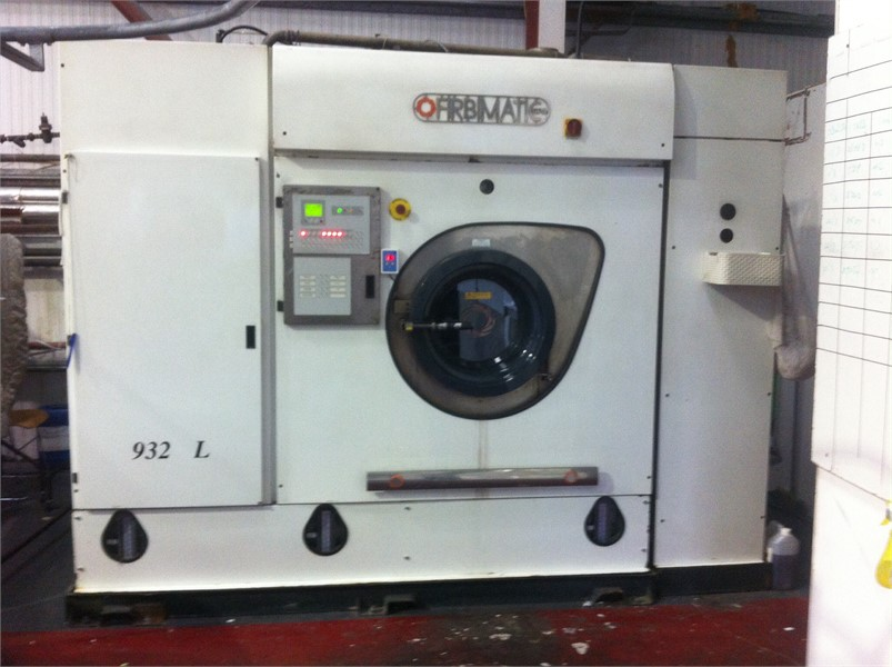 L932 fibirmatic drycleaning machine